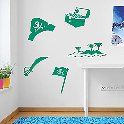 Per bambini, Set tesoro dei pirati decorazioni