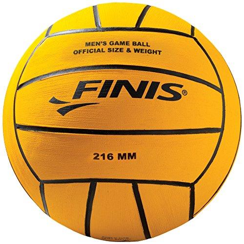 Finis Men's 6.25.007.43 Pallone da pallanuoto, Giallo, 5