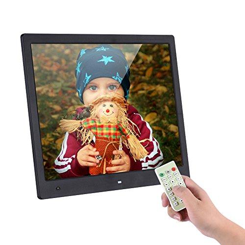 Bewegungs-sensor Elektronischer (Andoer 16Zoll 1600* 1200HOHE Auflösung Album Digital mit Sensor-Bewegungserkennung Fernbedienung Halterung Audio Video Spielgefühl Uhr Alarm Kalender Funktionen mehrere Sprachen)