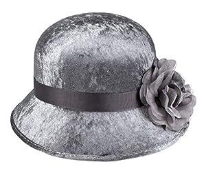 Boland 00830sombrero Espíritu Flapper, unisex-Adultos, Plata
