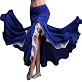 YiJee Femme Vêtements de Danse Belly Dance Jupe Danse du Ventre Maxi Jupes