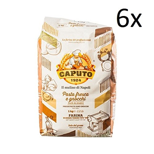 6x Farina Molino Caputo Pasta fresca e gnocchi Napoli Mehl