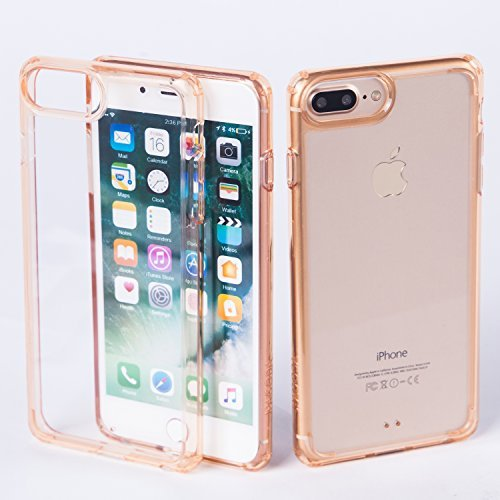 iPhone 7 Plus Fall, jpagoda Ultrathin Anti-Shock Case für Apple iPhone 7 Plus, Gold - 6 Plus Sprint Phones Iphone Cell