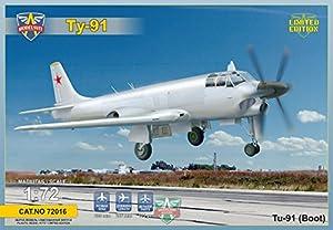 Modelsvit msvit72016-Maqueta de Barco de 91tupolev Soviet Naval Attack Aircraft