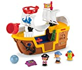 Mattel - Little People J4419-0 - Piratenschiff