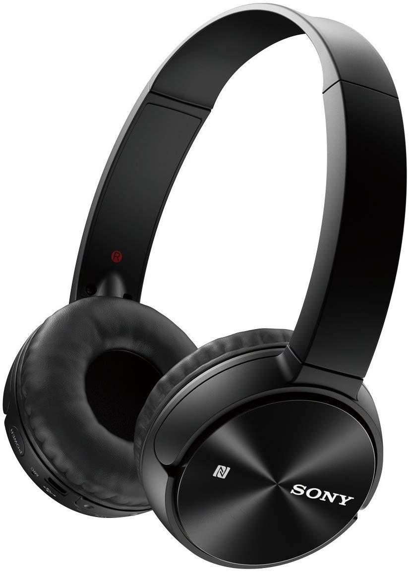 Sony MDR-ZX330BT – Auriculares supraurales Bluetooth NFC (Sistema de Carga rápida), Negro