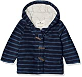 TOM TAILOR Unisex Baby Sweatshirt Jacke 1/1 Hood, Outer Space Blue 6715, 80