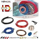 TronicXL 1200W Highend CAR HiFi Kabel Set Verstärker Endstufe Anschlusskabel PKW KFZ Auto Montage Cinchkabel RCA