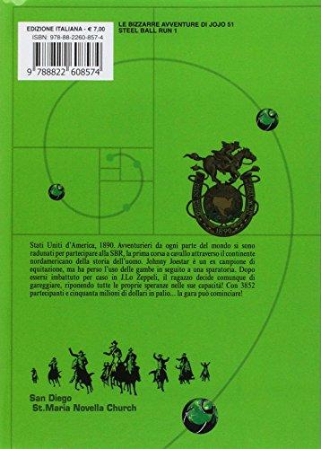 scaricare ebook gratis Steel ball run. Le bizzarre avventure di Jojo: 1 PDF Epub