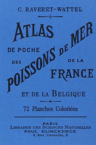 Atlas de poche des poissons de mer de la France et de la Belgique par C Raveret-wattel