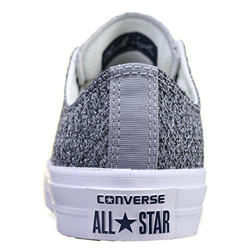 Converse Chuck Taylor All Star Ii Low Damen Sneaker Grau Grau