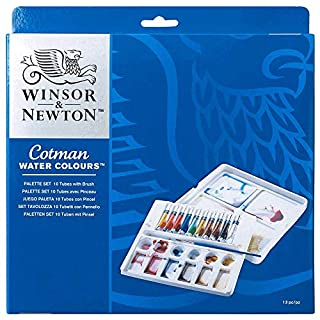 Winsor & Newton Cotman - Set de acuarela, caja paleta con 10 tubos (B000OL3TQW) | Amazon price tracker / tracking, Amazon price history charts, Amazon price watches, Amazon price drop alerts