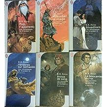 Les chroniques de Krondor en 4 tomes + Les nouvelles chroniques de Krondor en 2 tomes (L'apprenti/ Milamber, le mage/ Silverthorn/ Ténèbres sur Sethanon/ Prince de sang/ Le boucanier du roi).