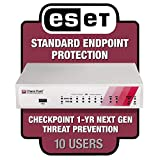 Check Point 730 Wired Security Appliance w/Threat Prevention, 1 Yr Standard Support + Qty. 10 ESET Endpoint Protection Standard