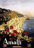 World of Art Vintage Travel Italien für Amalfi c1927von