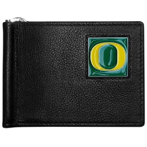 Oregon Ducks Leather Bill Clip Wallet