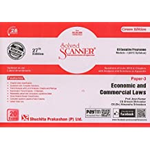 Solved Scanner CS Executive Programme Module-I (2013 Syllabus) Paper-3 Economic and Commercial Laws (dEC 2018 eXAM)