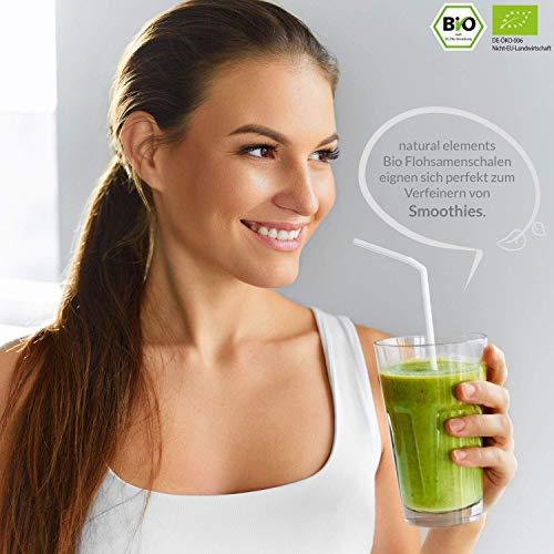 Bio Flohsamenschalen – Premium Qualität – 500g Beutel - 5