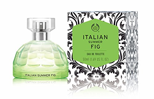 The Body Shop Eau de Toilette ~ ~ ~ 50 ml ~ ~ ~ giapponese ciliegia blossom-indian notte jasmine-polynesian Isola tiare-atlas Mountain rose-english Alba gardenia-fijian Acqua lotus-italian estate Fig