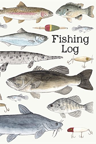 Fishing Log: A Kids Fishing Log por Alice M Cantrell