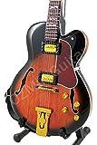 OZMiniGuitar Guitare Miniature Lee Ritenour Jazz L-5 Sunburst