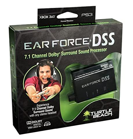 Turtle Beach Ear Force DSS 5.7 / 7.1 Channel Dolby Surround Sound Processor for Stereo Headsets (Xbox 360/PS3/Windows