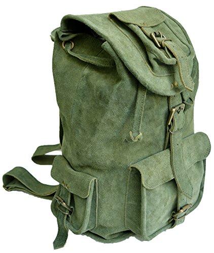 Jaald  16-PTU,  Daypack Grün Suede Green 40,6 cm (Shorts Baseball Drawstring)