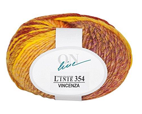 ONline laine vincenza ligne 354, coloris : 02, 50 m 110 g