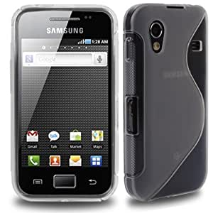 CNL CLEAR S-LINE GEL SLIM SKIN COVER CASE FOR SAMSUNG GALAXY ACE s5830 MOBILE PHONE