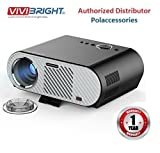 #8: Vivibright GP90 Portable Projector LED LCD 3200 Lumens 1280*800 Support 1080P