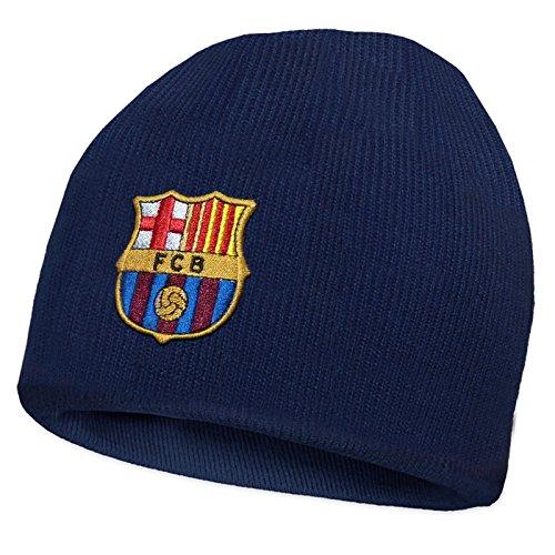 FC Barcelona - Gorro básico oficial punto - Para