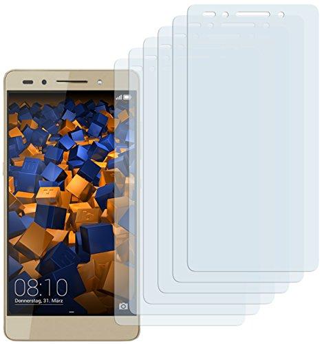mumbi Schutzfolie kompatibel mit Huawei Honor 7 / 7 Premium Folie klar, Displayschutzfolie (6x)