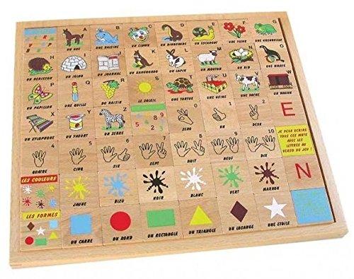 Les Jeux de Paul - J'apprends l'alphabet - Bois massif - 2802