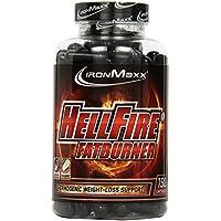 IronMaxx Hellfire Fatburner Tricaps – Fatburner Kapseln zum Abnehmen – Hellfire Tricaps mit Thermogenetic Burn Formula – 1 x 150 Kapseln