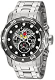 Invicta 23768 Disney Limited Edition - Mickey Mouse Men's Wrist Watch Stainless Steel Quartz Black Dial