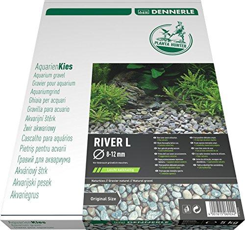 Dennerle 6924 Naturkies Plantahunter River, Größe L