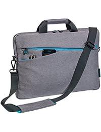 PEDEA 'Fashion' Notebooktasche 43,9 cm (17,3 Zoll) grau