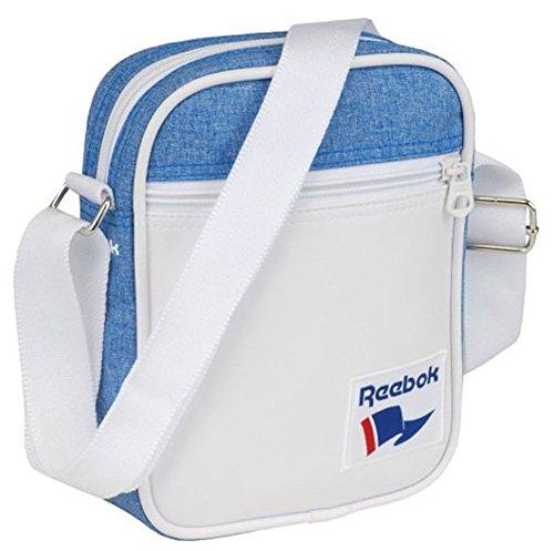 Reebok Model Royal City Bag, Tasche, Praktische, robuste Umhängetasche mit Reißverschluß und einer Außentaschen mit Reißverschluß und Verstellbare Träger, Maße : 22 x 16 x 5 cm