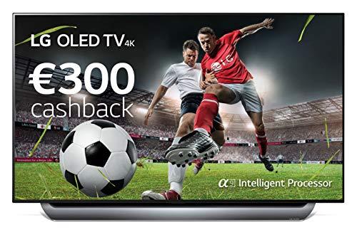 LG 55c8pla Televisor 55'' OLED Uhd 4k HDR Thinq Smart TV Webos 4.0 WiFi Bluetooth...