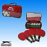 12 tlg. Tischtennis Tischtennisschläger Schläger Tischtennisnetz Tischtennisball Netz Bälle Set