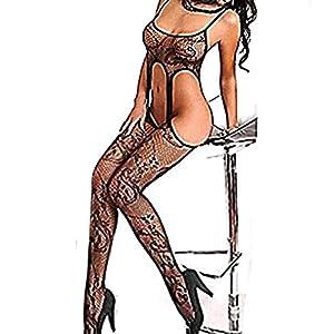 Strümpfe Nachtwäsche Nachthemd Body Frauen sexy Dessous Body Strümpfe Unterwäsche öffnen