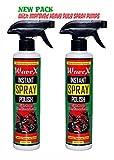 #4: WAVEX Instant Spray Polish (2Pcs,350ML Each)