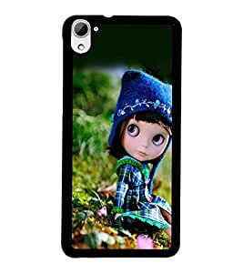 PrintDhaba Cute Doll D-1026 Back Case Cover for HTC DESIRE 826 (Multi-Coloured)