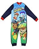 Garçons sous licence Paw Patrol Ryder Chase Marshall Micro Fleece Bodies âge 3-4 ans