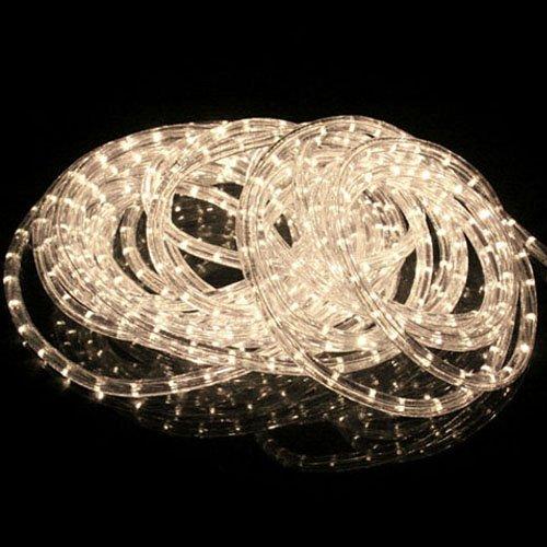 [Golden Tulip®]6m/8m/10m/12m/14m/20m/30m/50m Lichterkette LED Lichtschlauch warm weiß Außen/Innen (50m)