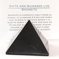 """XL SHUNGIT SCHUNGIT Pyramide 100mm 4 """" elektromagnetischen Shutz- preisvergleich bei billige-tabletten.eu"""