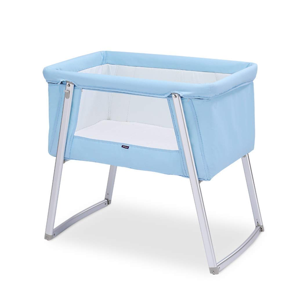 - Tyui Baby Crib, Compact Travel Cot 0-6 Months Travel Cots Foldable
