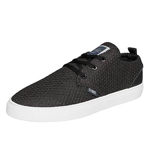 Djinns Homme Chaussures / Baskets LOWLAU20SUMMERMESH Noir