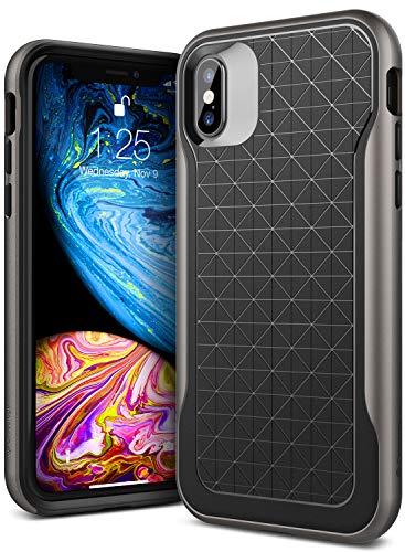 Caseology Apex Case - Case iPhone XS/X (Black/Warm Gray)