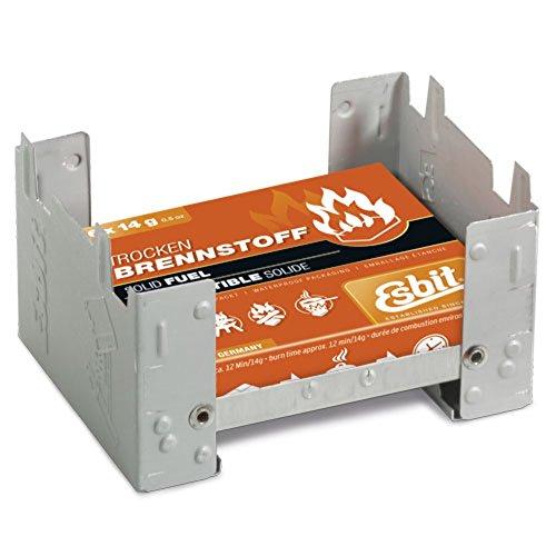 Esbit Trockenspiritus-Würfel Camping Kocher Esbitkocher 6x14g 00209100 Stahl verzinkt -